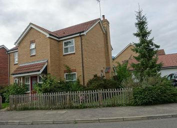 Thumbnail 4 bed detached house for sale in Oxfield Drive, Gorefield, Cambridgeshire