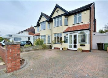 Thumbnail 4 bed semi-detached house for sale in Kings Hey Drive, Southport