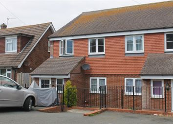 Thumbnail 4 bed semi-detached house for sale in Seabourne Road, Bexhill-On-Sea