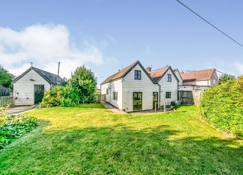 Thumbnail 4 bed detached bungalow for sale in Salmons Lane, Coggeshall, Colchester