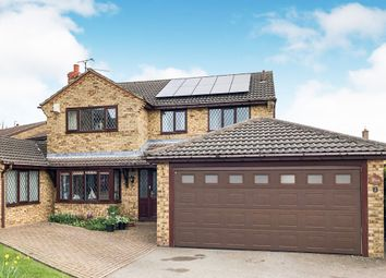 Thumbnail 4 bedroom detached house for sale in Lewin Close, Rothwell, Kettering