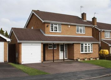 Thumbnail 4 bed detached house for sale in Glebe Close, Glenfield, Leicester