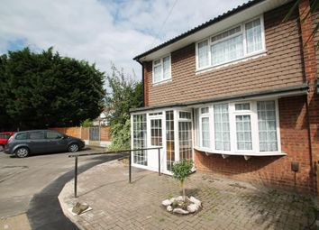 Thumbnail 3 bedroom semi-detached house to rent in Crombie Close, Ilford