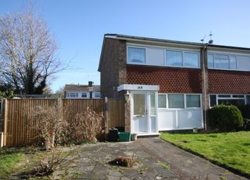 Thumbnail 3 bed end terrace house for sale in Woodcote Drive, Orpington