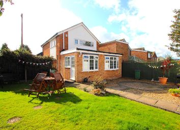 Thumbnail 3 bed detached house for sale in Pits Avenue, Braunstone, Leicester