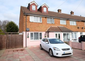 Thumbnail 5 bedroom end terrace house for sale in Lynden Way, Swanley