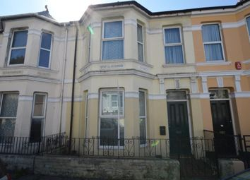 Thumbnail 4 bedroom terraced house to rent in Beaumont Road, Plymouth, Devon