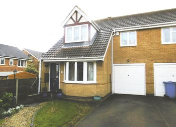 Thumbnail 3 bed semi-detached house for sale in Sterling Close, Worksop
