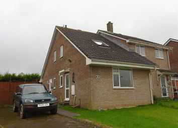 Thumbnail Semi-detached house for sale in Treheath Road, Dobwalls, Liskeard