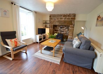 Thumbnail 2 bed flat to rent in Fore Street, Lelant