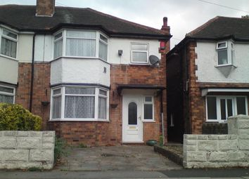 Thumbnail 3 bedroom semi-detached house for sale in Marsh Hill, Birmingham