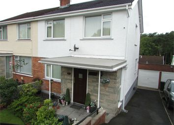 Thumbnail 3 bed semi-detached house for sale in Dyffryn View, Bryncoch, Neath, West Glamorgan