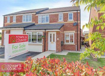 Thumbnail 3 bed semi-detached house for sale in Ffordd Tudno, Oakenholt, Flint, Flintshire