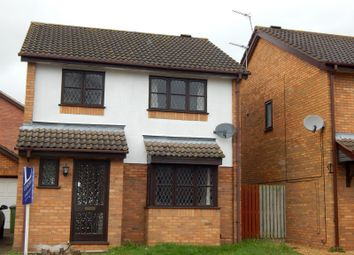 Thumbnail 3 bedroom detached house to rent in Haverscroft Close, Thorpe Marriot, Norwich