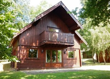 Thumbnail 2 bed lodge to rent in Harleyford Estate, Henley Road, Marlow, Buckinghamshire
