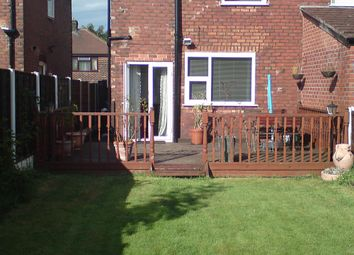 Thumbnail 2 bed semi-detached house for sale in Silverdale Avenue, Manchester, Greater Manchester