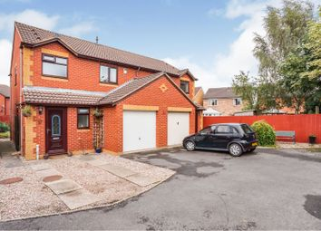 Thumbnail 3 bed semi-detached house for sale in Torrance Close, Branston, Burton-On-Trent