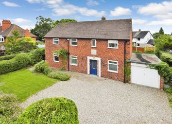 Thumbnail 4 bed detached house for sale in Tattenhall Road, Tattenhall, Chester