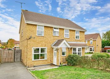 Thumbnail 3 bed semi-detached house for sale in Ennerdale Close, Stukeley Meadows, Huntingdon.