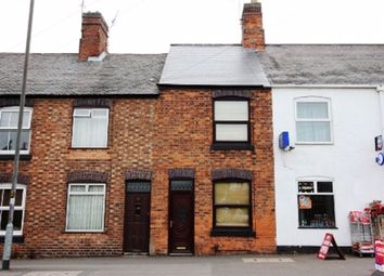Thumbnail 2 bed terraced house to rent in Ashby Road, Hinckley