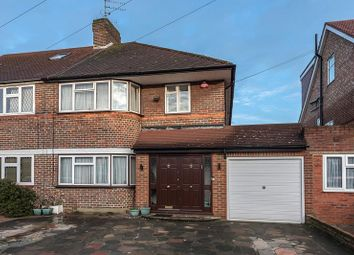 Thumbnail 3 bed semi-detached house for sale in Cornbury Road, Edgware, Greater London.