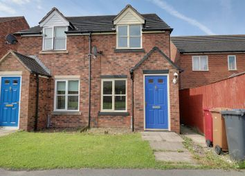 Thumbnail 2 bed semi-detached house for sale in Temple Road, Scunthorpe