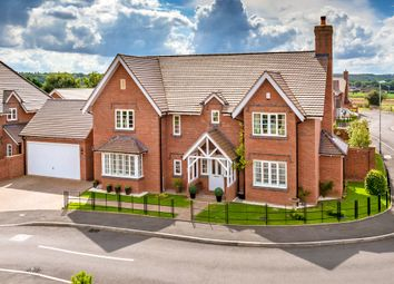 Thumbnail 4 bed detached house for sale in Hill Farm Close, Lilleshall, Newport