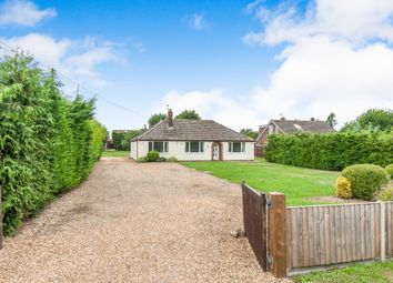 Thumbnail 3 bedroom detached bungalow for sale in Drift Road, Lakenheath, Brandon