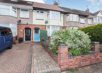 Thumbnail 3 bed terraced house for sale in The Headlands, Chapelfields, Coventry, West Midlands
