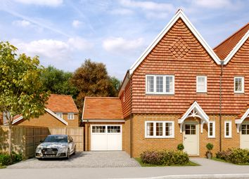 Thumbnail 3 bed semi-detached house for sale in The Camberwell, Willowbrook, Elmbridge Road, Cranleigh, Surrey