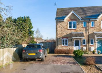 Thumbnail 3 bed semi-detached house for sale in The Gardens, Calne