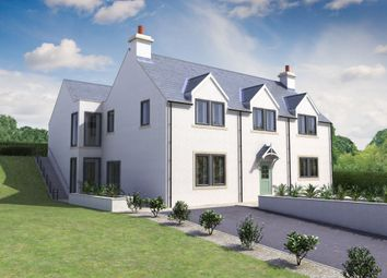 Thumbnail 4 bed detached house for sale in Gattonside, Melrose