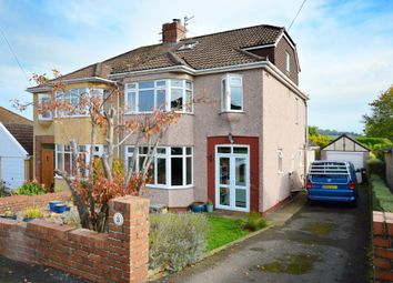 Thumbnail 4 bed semi-detached house for sale in Somerville Close, Saltford