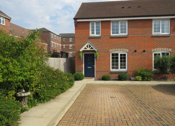 Thumbnail 3 bed end terrace house for sale in Tunnicliffe Close, Ilkeston