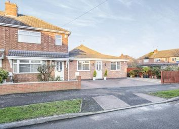 Thumbnail 3 bed semi-detached house for sale in Lowland Avenue, Leicester Forest East, Leicester, Leicestershire