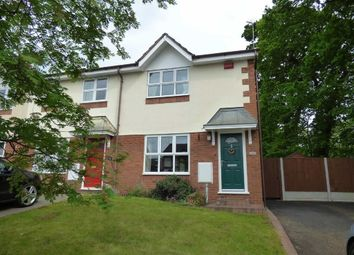 Thumbnail 3 bed mews house for sale in Field Lane, Wistaston, Crewe