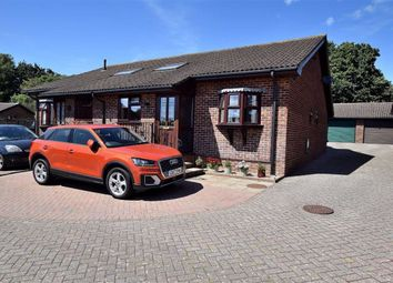 Thumbnail 2 bed semi-detached bungalow for sale in Brecon Close, New Milton