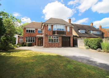 Thumbnail 4 bed detached house for sale in Whitefields Road, Solihull