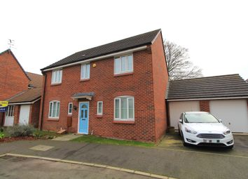 Thumbnail 4 bed detached house for sale in Snowdrop Close, Hucknall, Nottingham