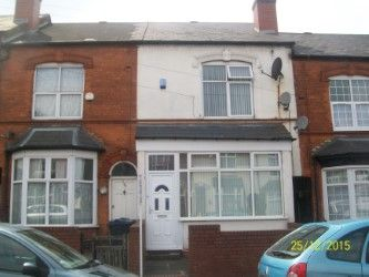 Thumbnail 3 bed terraced house for sale in Crompton Road, Handsworth