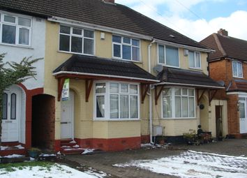 Thumbnail 3 bed terraced house to rent in Alvechurch Road, West Heath, Birmingham