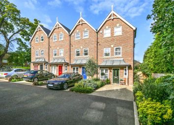 Thumbnail 4 bed end terrace house for sale in Pine Grove, Weybridge, Surrey