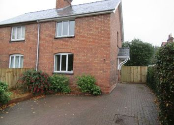 Thumbnail 2 bedroom semi-detached house to rent in Lower Howsell Road, Malvern