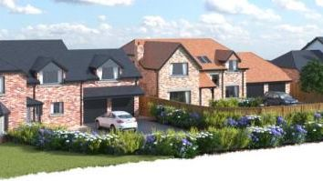 Thumbnail 5 bedroom detached house for sale in Aughton Chase, Springfield Road, Aughton, Lancashire