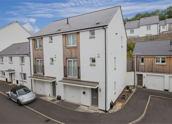 Thumbnail 3 bedroom end terrace house for sale in Tamworth Close, Ogwell, Newton Abbot, Devon.