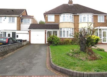 Thumbnail 3 bed property to rent in Hall Drive, Marston Green, Birmingham