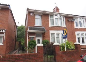 Thumbnail 4 bed semi-detached house for sale in Oxford Street, Barry