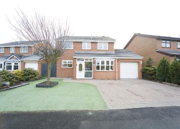 Thumbnail 4 bed detached house for sale in Burnston Close, Hartlepool