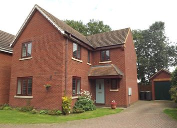 Thumbnail 4 bed detached house for sale in Sheepwalk Close, Potton