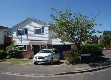 Thumbnail 4 bed detached house to rent in Quantock Close, Charvil, Reading